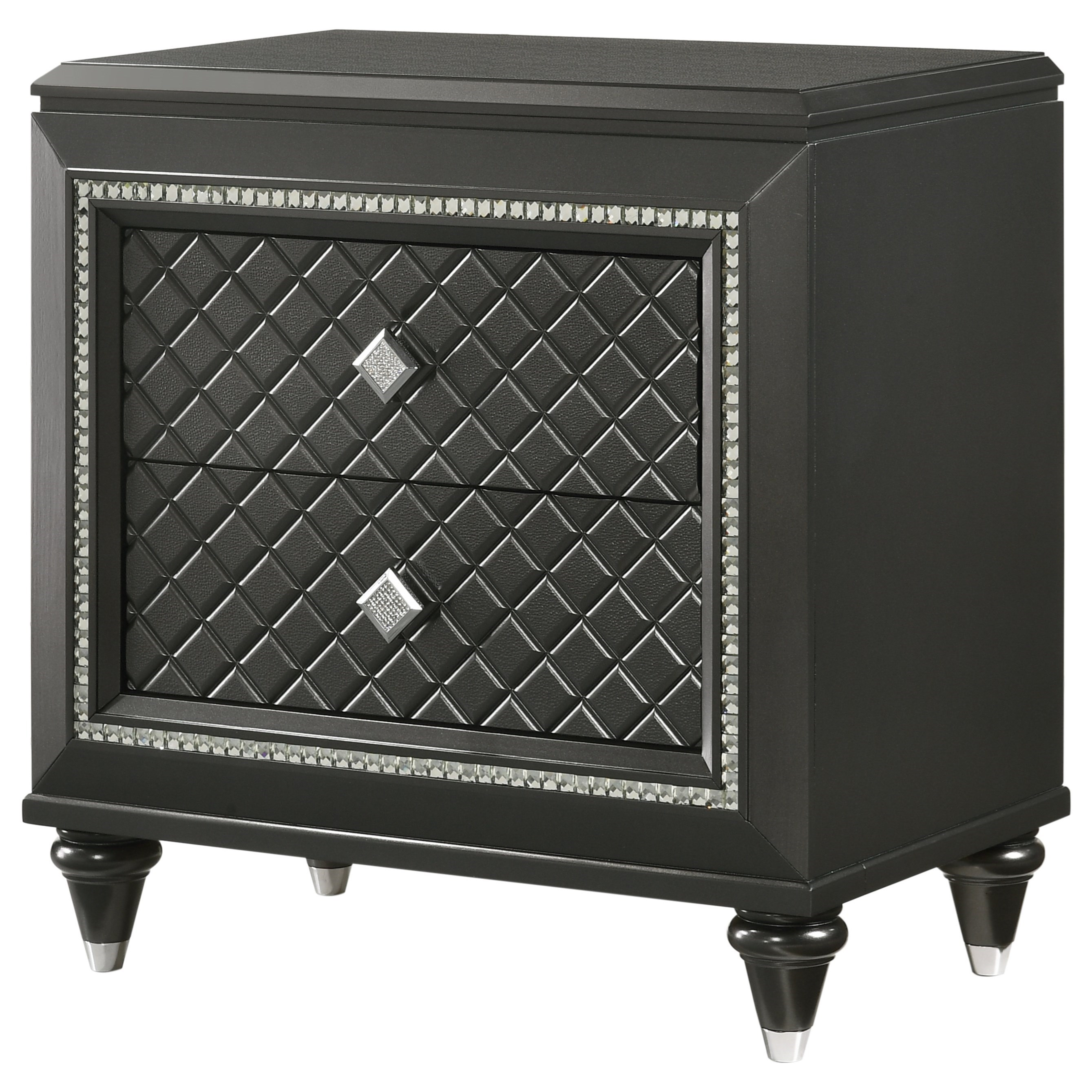 Giovani Night Stand by Crown Mark at Northeast Factory Direct