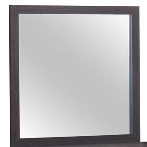 Contemporary Square Dresser Mirror