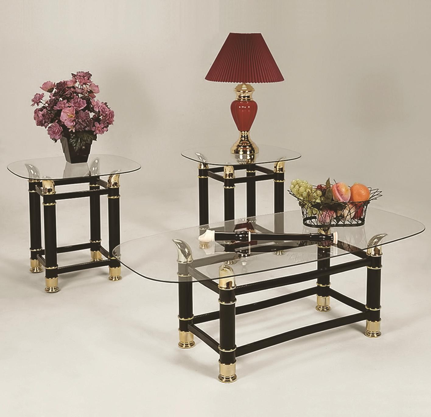 Horn 3 Pack Cocktail Table Set by Crown Mark at Northeast Factory Direct