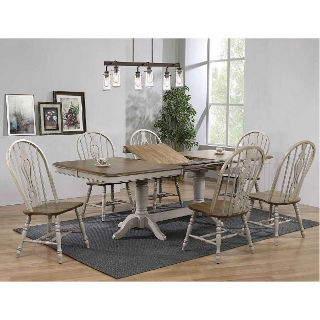 Jack 7-Piece Dining Set by Crown Mark at Northeast Factory Direct