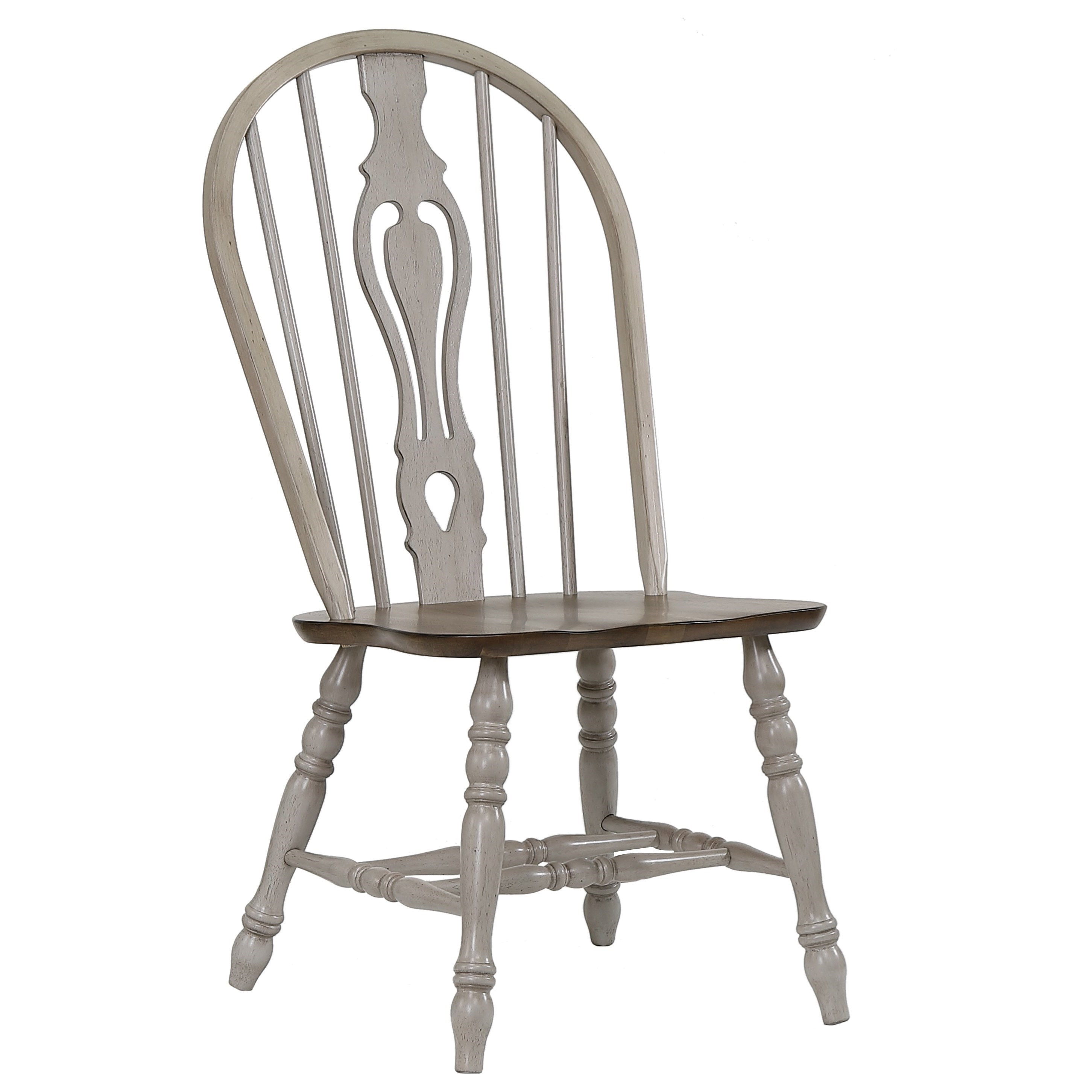Jack Keyhole Dining Side Chair by Crown Mark at Northeast Factory Direct