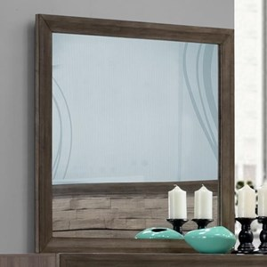 Contemporary Rustic Dresser Mirror