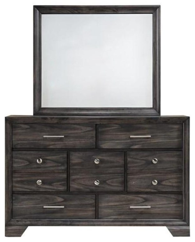 Jaymes Dresser and Mirror Combo by Royal Fair at Ruby Gordon Home