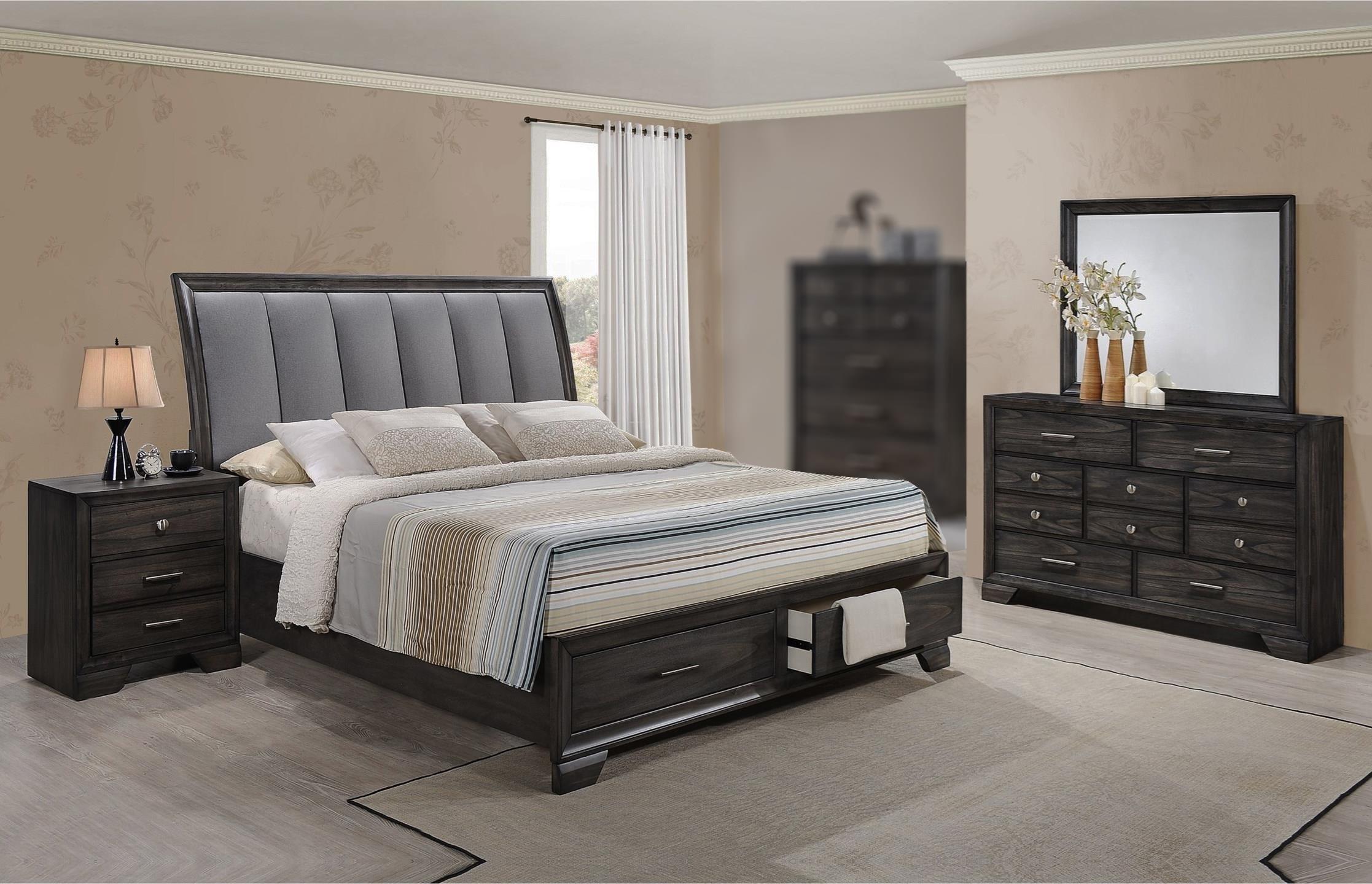 Jameson 4PC King Storage Bedroom Set at Rotmans