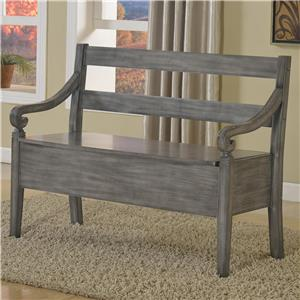 Accent Bench with Seat Storage