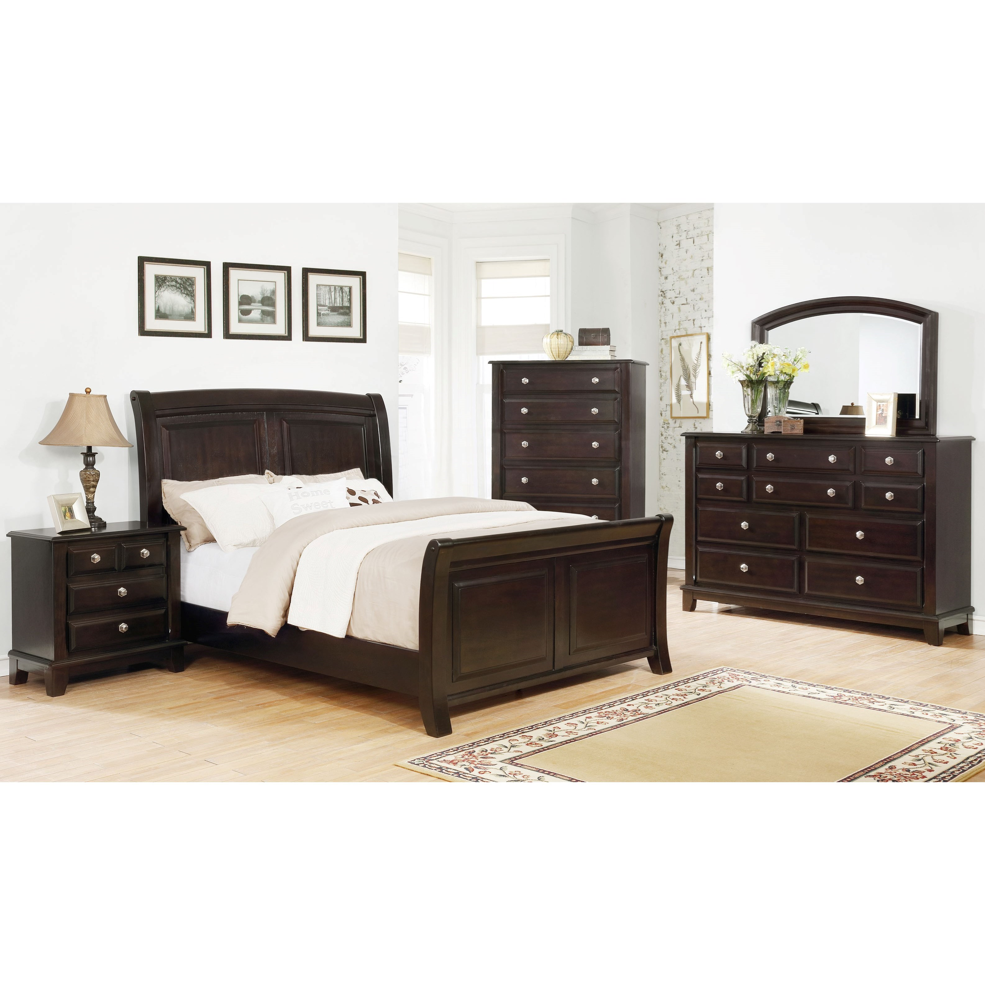 Kenton Queen Bedroom Group  by Crown Mark at Northeast Factory Direct