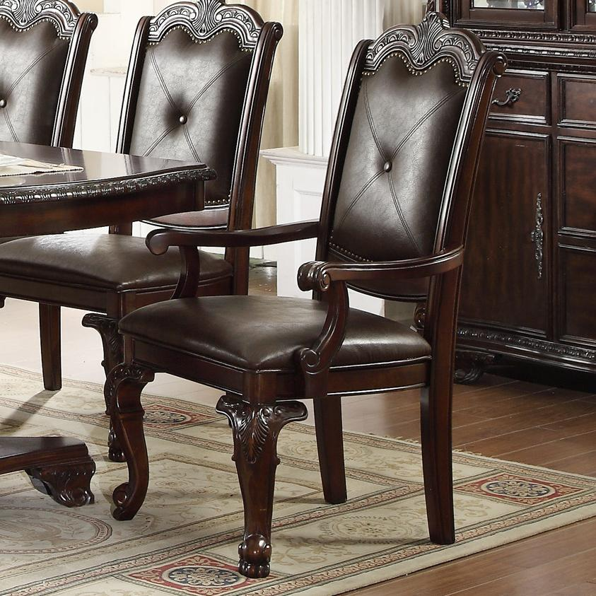 Kiera Arm Chair by Crown Mark at Darvin Furniture