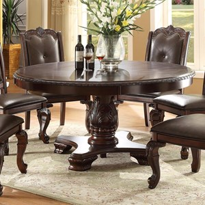 Traditional Round Dining Table