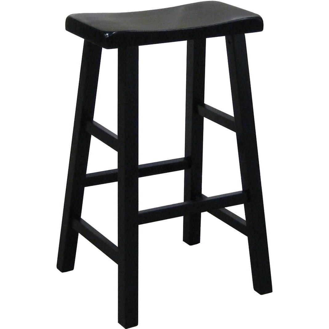"""Kirin 29"""" Height Saddle Stool by Crown Mark at Northeast Factory Direct"""