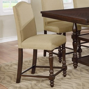 Upholstered Counter Height Stool
