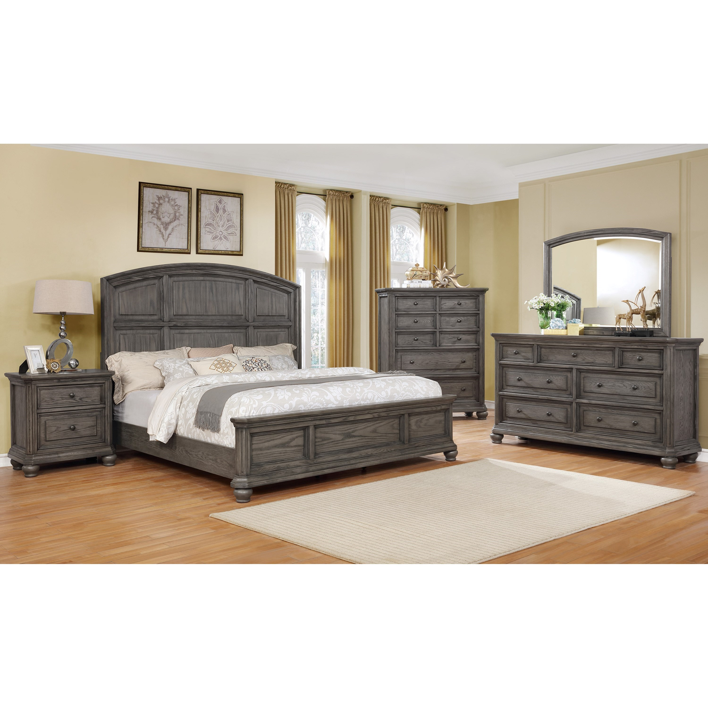 Lavonia King Bedroom Group by Crown Mark at Northeast Factory Direct