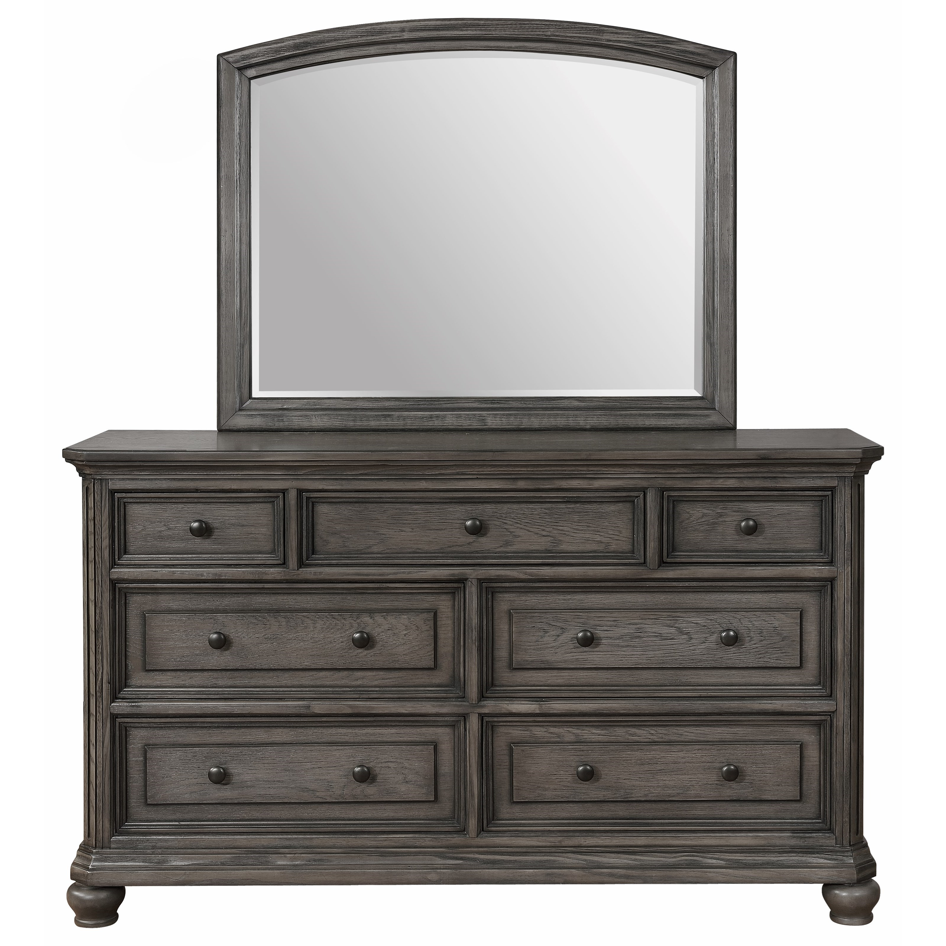 Lavonia Dresser and Mirror by Crown Mark at Northeast Factory Direct