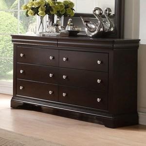 Traditional Six Dresser