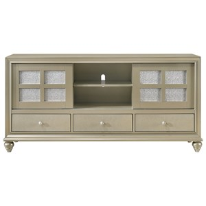 Glam Two-Toned TV Stand