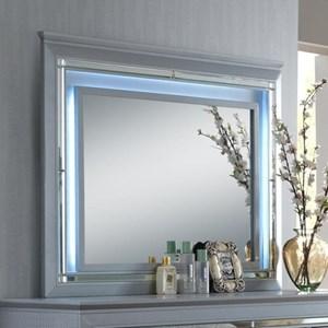 Dresser Mirror with LED Backlight