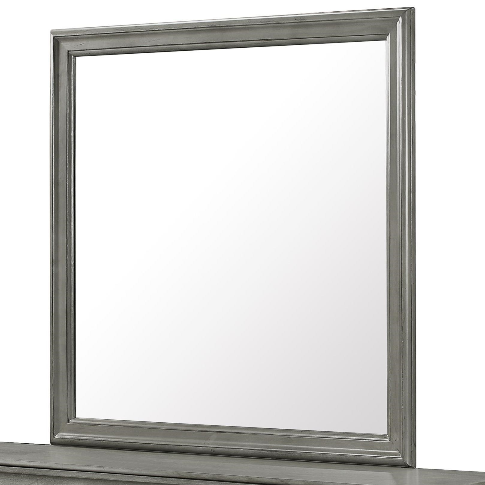 Louis Philip Dresser Mirror by Crown Mark at Northeast Factory Direct