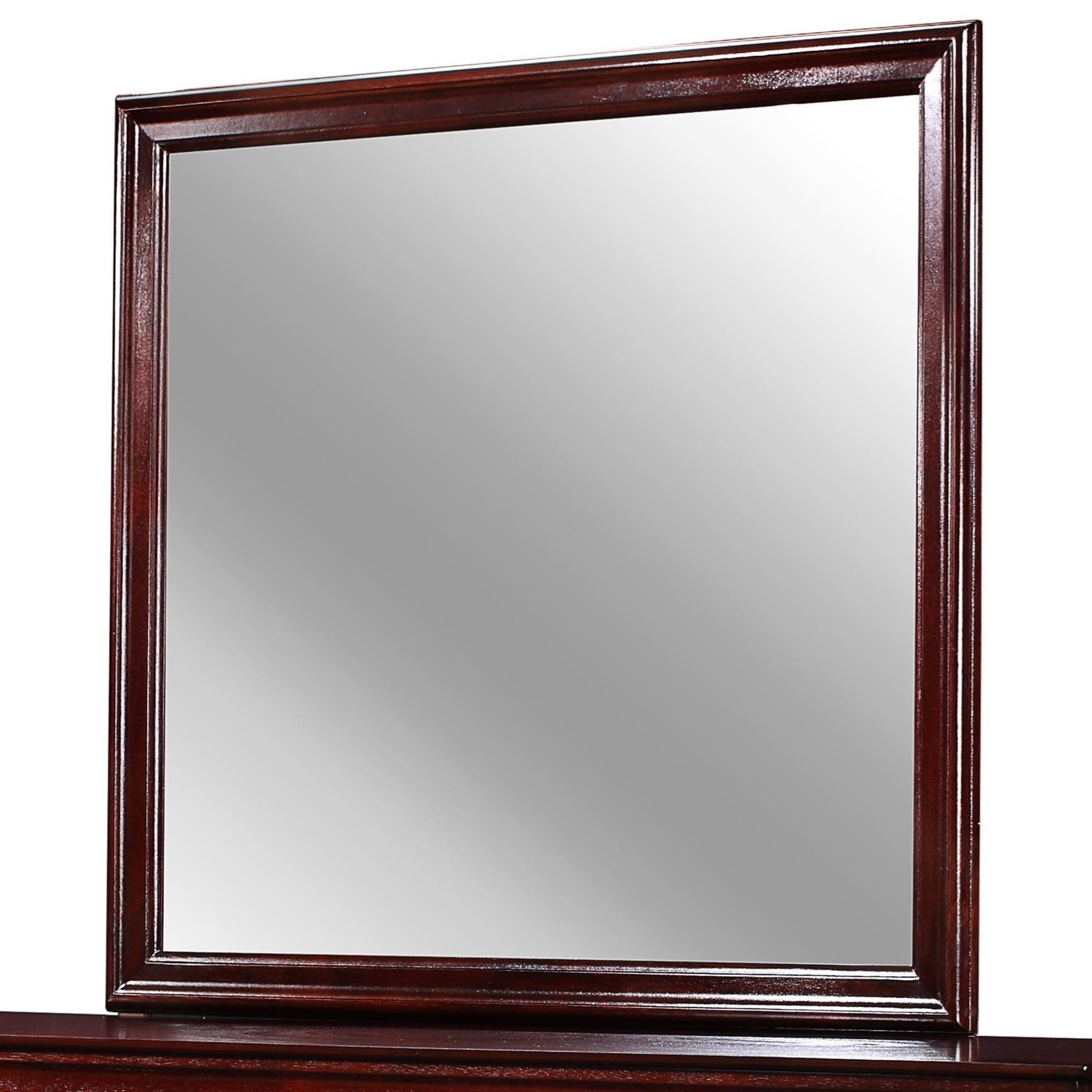 Louis Philip Dresser Mirror by Crown Mark at Wilcox Furniture