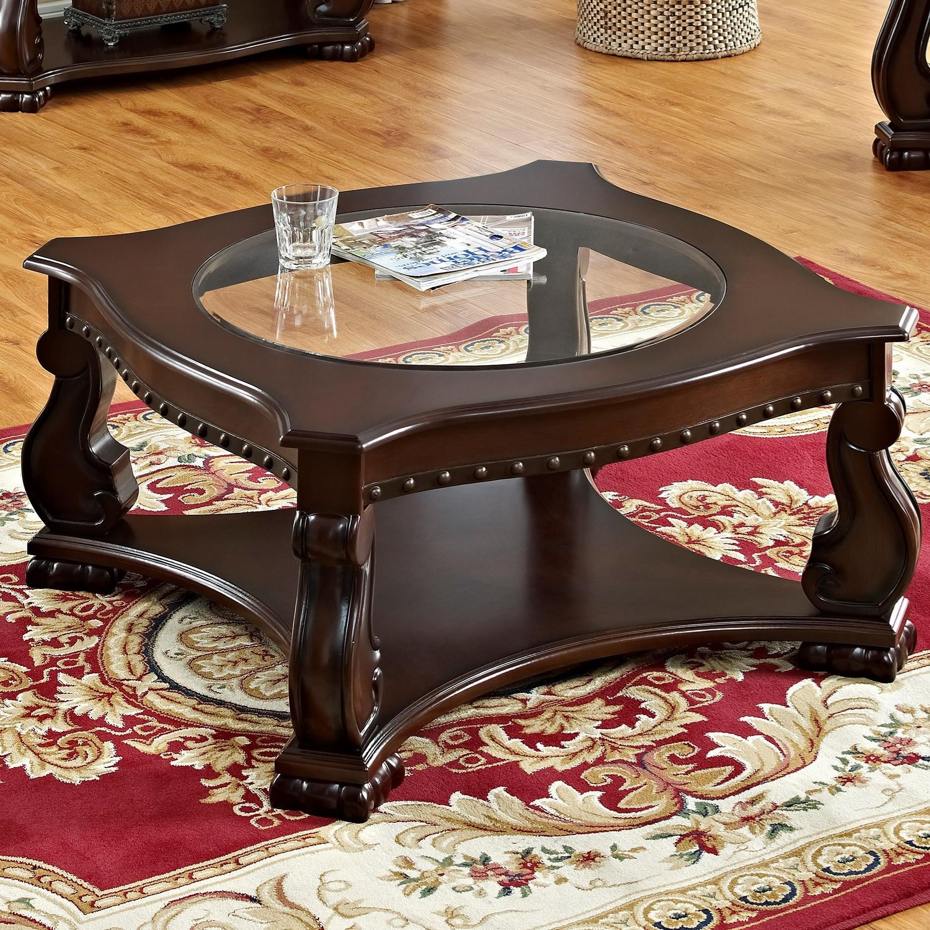 Madison Coffee Table by Crown Mark at Northeast Factory Direct