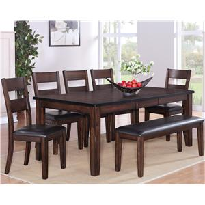5 PC Dining Table and Chairs