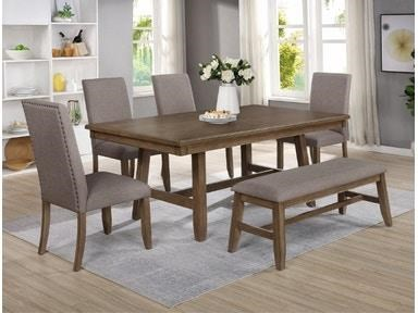 Manning 5 Piece Dining Set by Crown Mark at Darvin Furniture