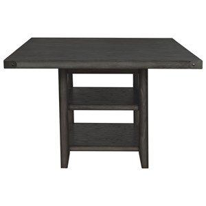 "Counter Height Storage Table with 18"" Leaf"