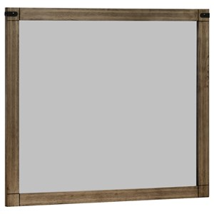 Framed Dresser Mirror
