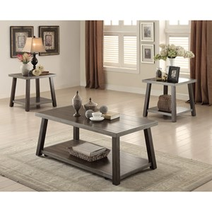 Occasional Table Group with Casters