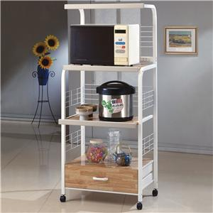 Kitchen Shelf with Casters