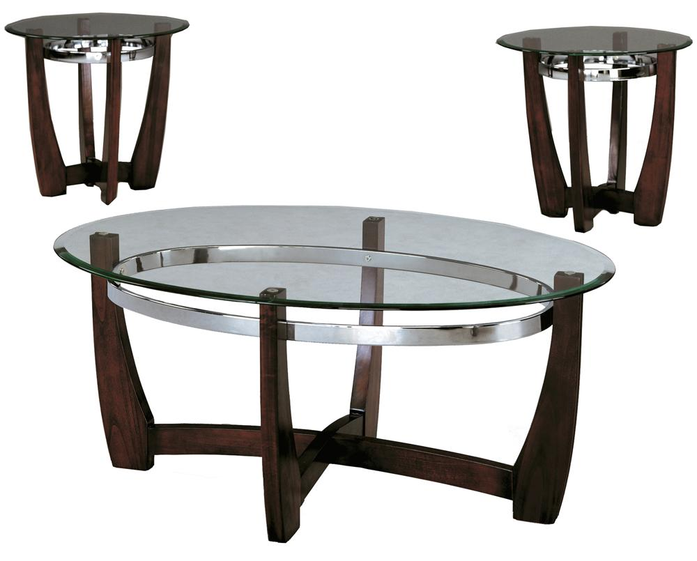 Mitchell Three Pack Cocktail Set by Crown Mark at Northeast Factory Direct