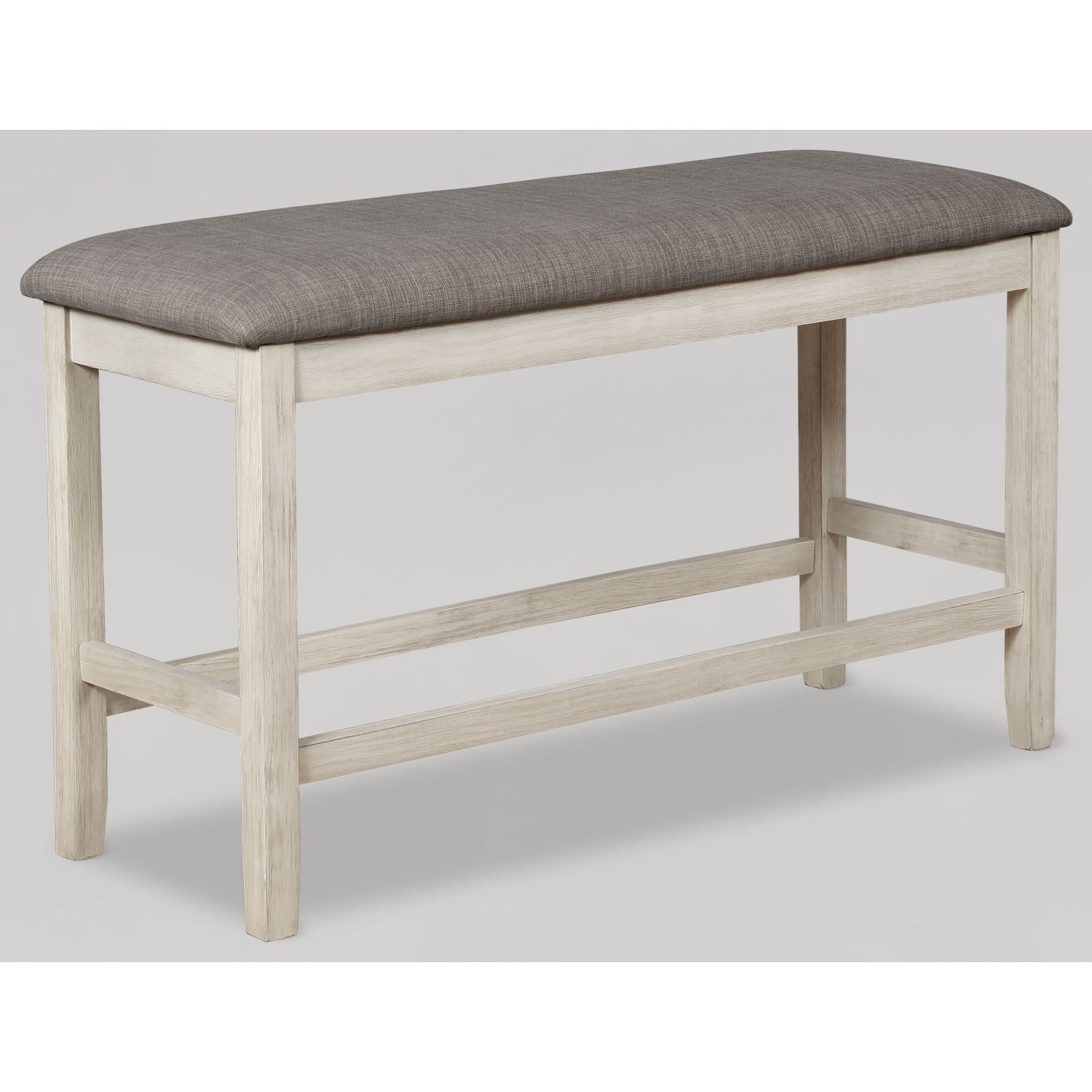 Nina Counter Height Bench by Crown Mark at Darvin Furniture