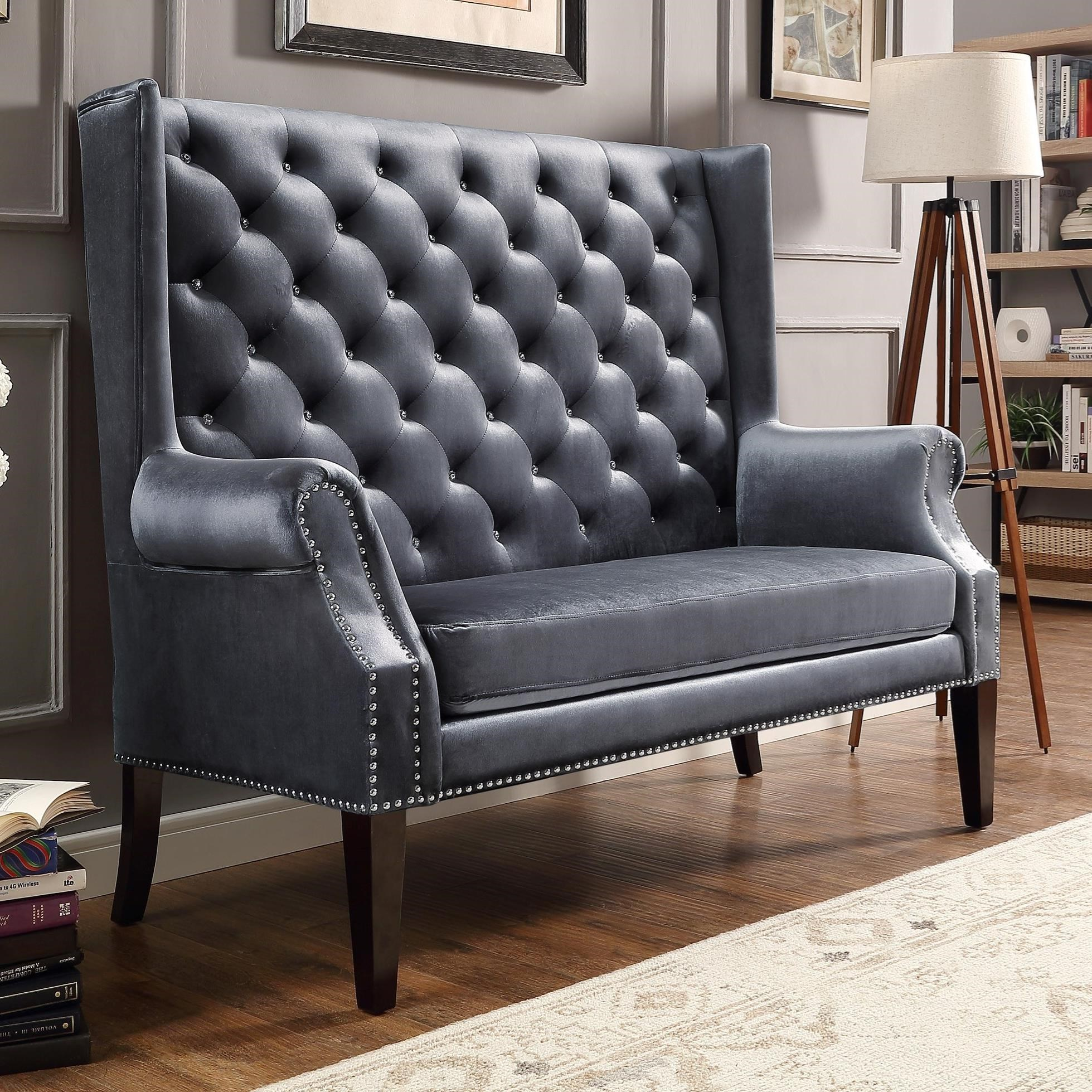 Odina Traditional Loveseat by Crown Mark at Darvin Furniture