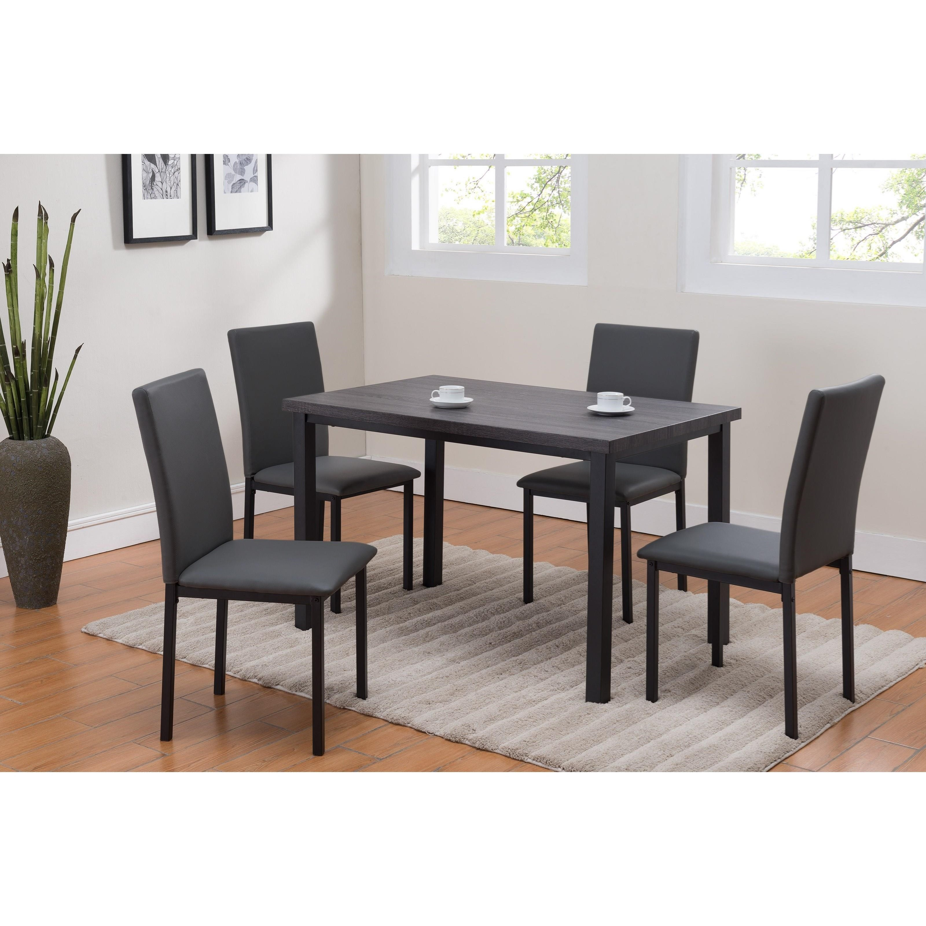Orlo 5 Piece Dinette by Crown Mark at Northeast Factory Direct