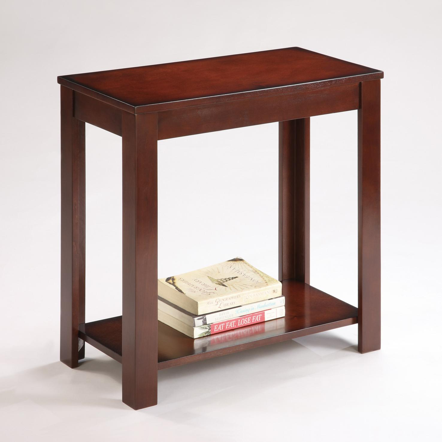 Pierce Chairside Table by Crown Mark at Darvin Furniture