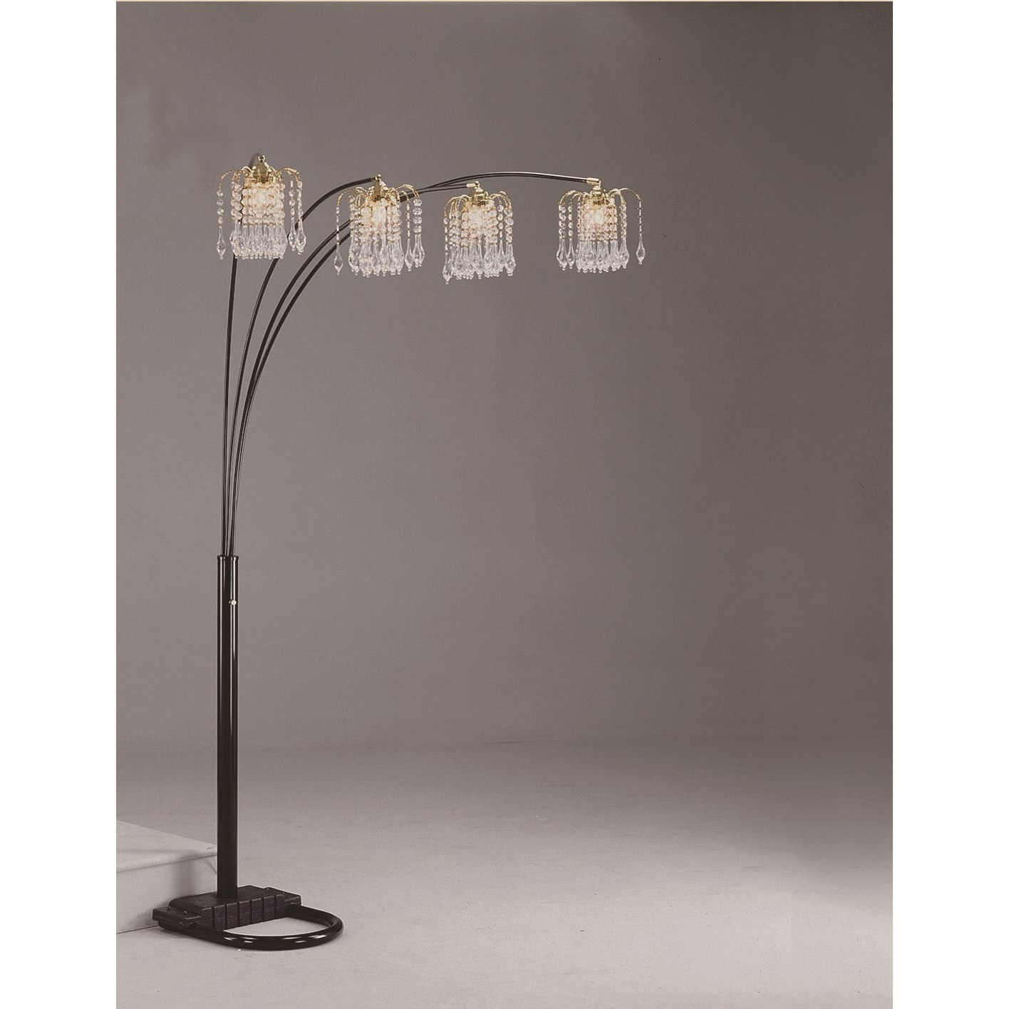 Rain Floor Lamp by Crown Mark at Northeast Factory Direct