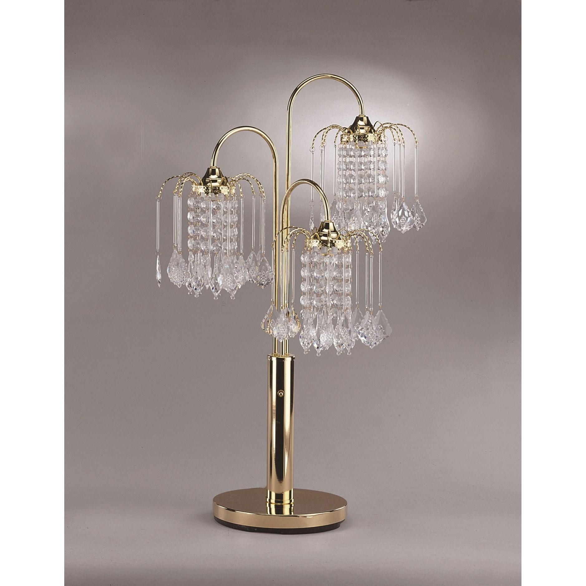 Rain Table Lamp by Crown Mark at Nassau Furniture and Mattress
