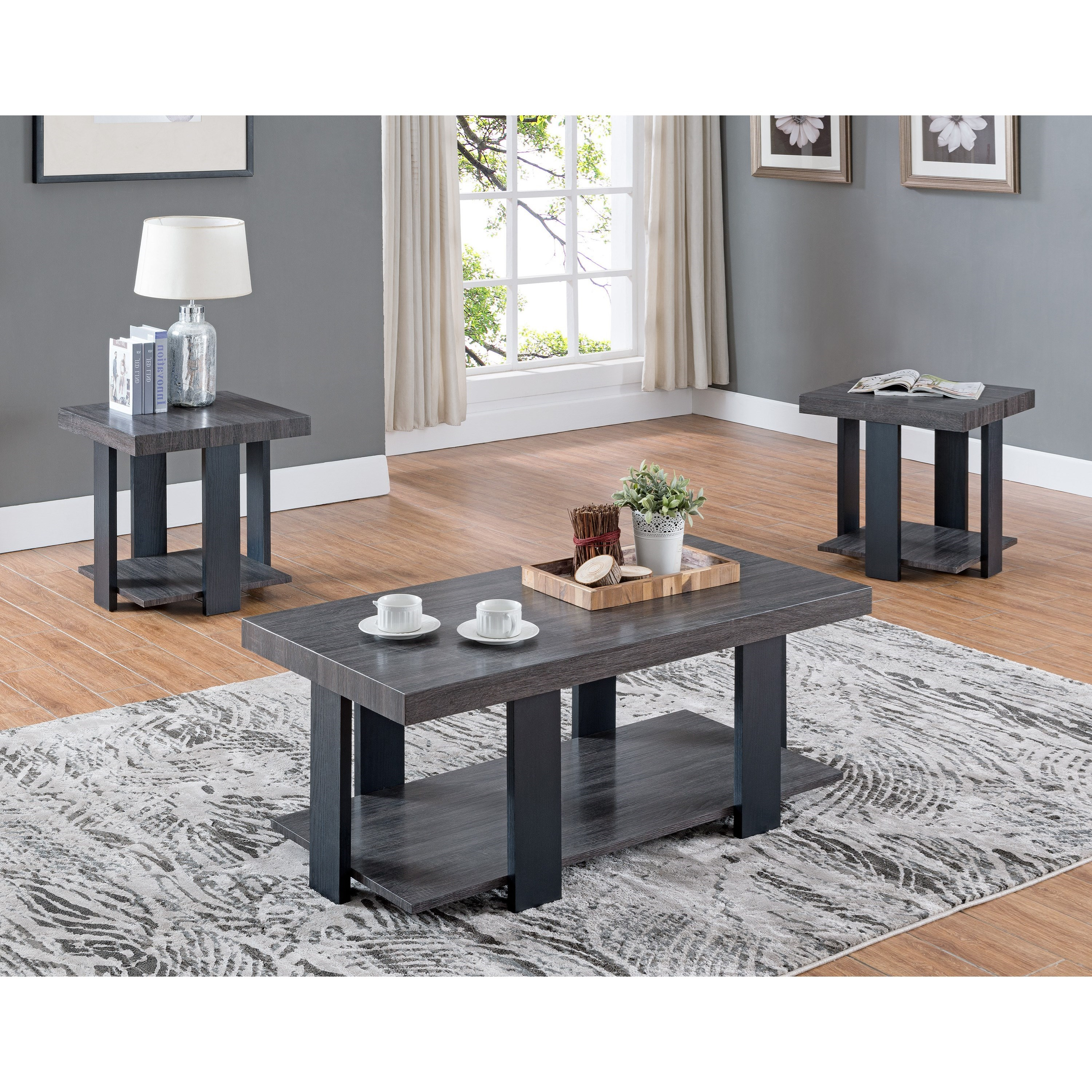 Randy Occasional Table Set by Crown Mark at A1 Furniture & Mattress