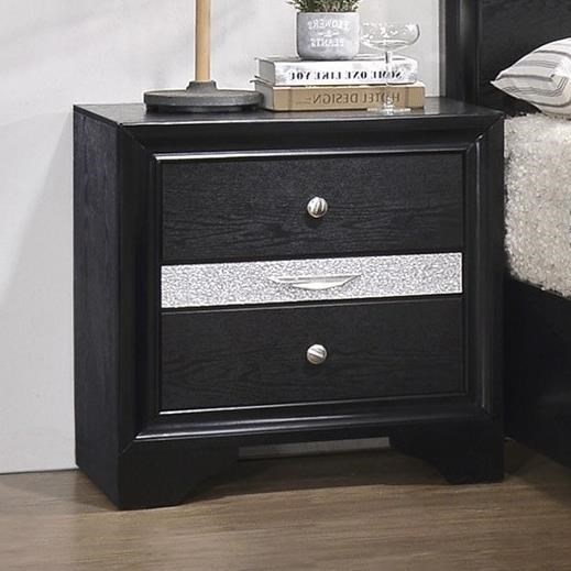 Regata Night Stand by Crown Mark at Northeast Factory Direct