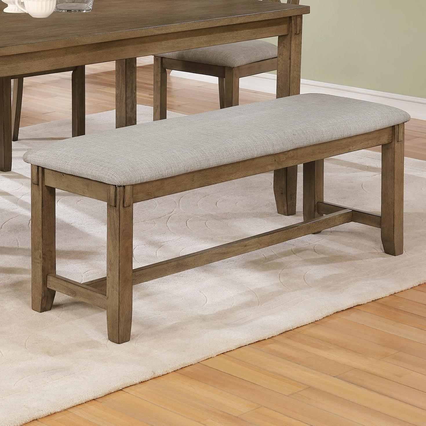Clara Dining Bench by Crown Mark at Darvin Furniture