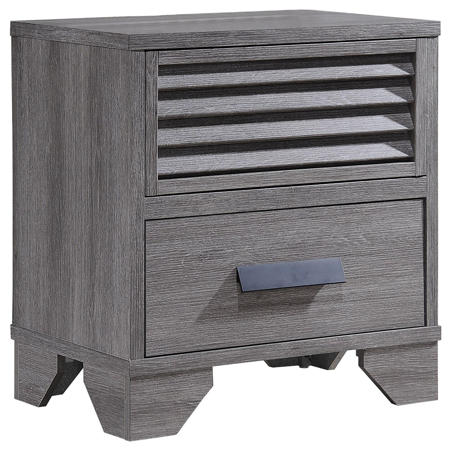 Sarter Night Stand by Crown Mark at A1 Furniture & Mattress