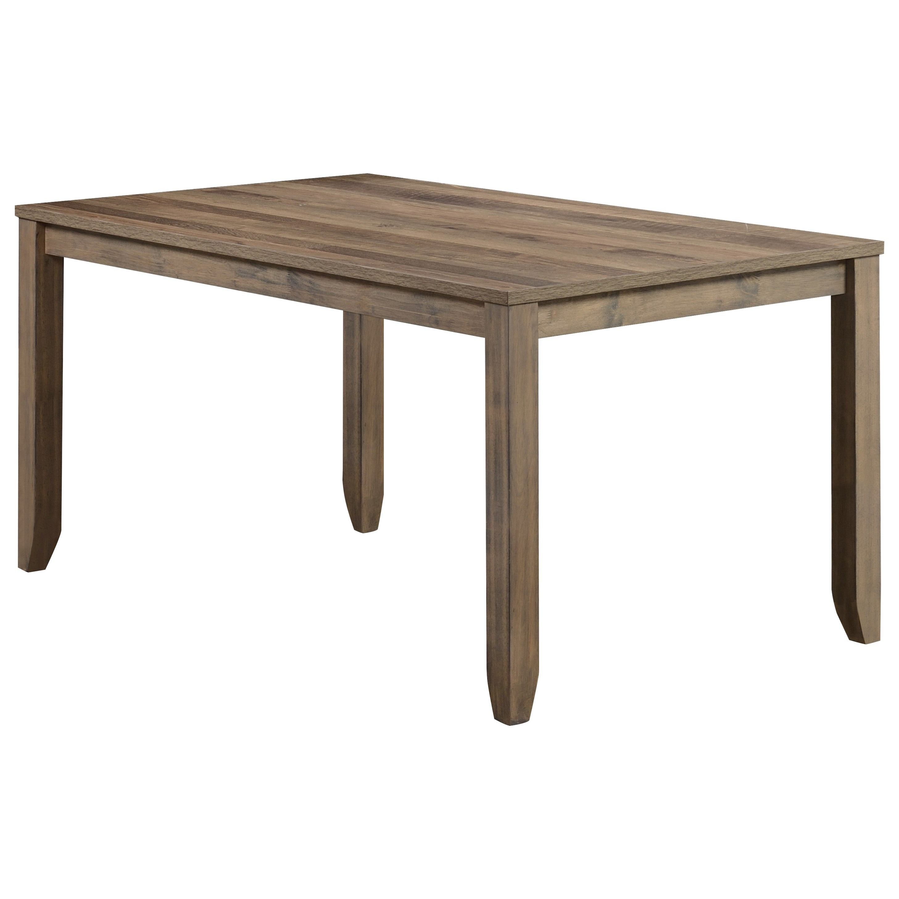 Sean Melamine Dining Table by Crown Mark at Catalog Outlet