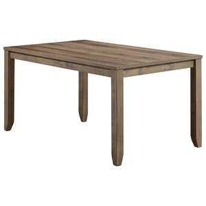 Stain-Resistant Melamine Dining Table
