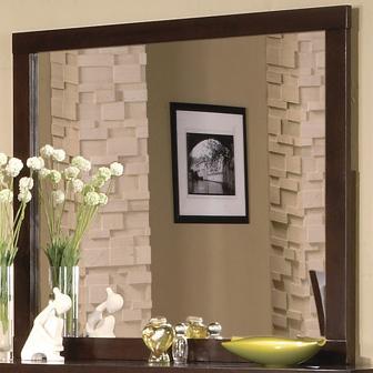 Serena Dresser Mirror by Crown Mark Furniture at Del Sol Furniture