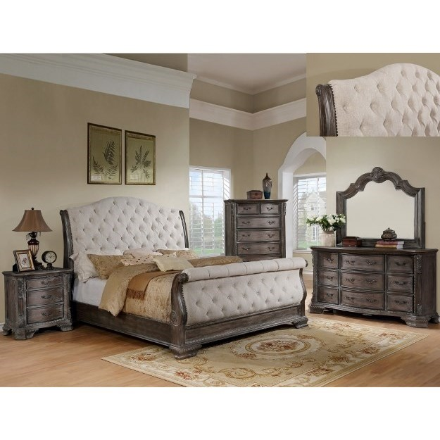 Sheffield Queen Bedroom Group by Crown Mark at Northeast Factory Direct