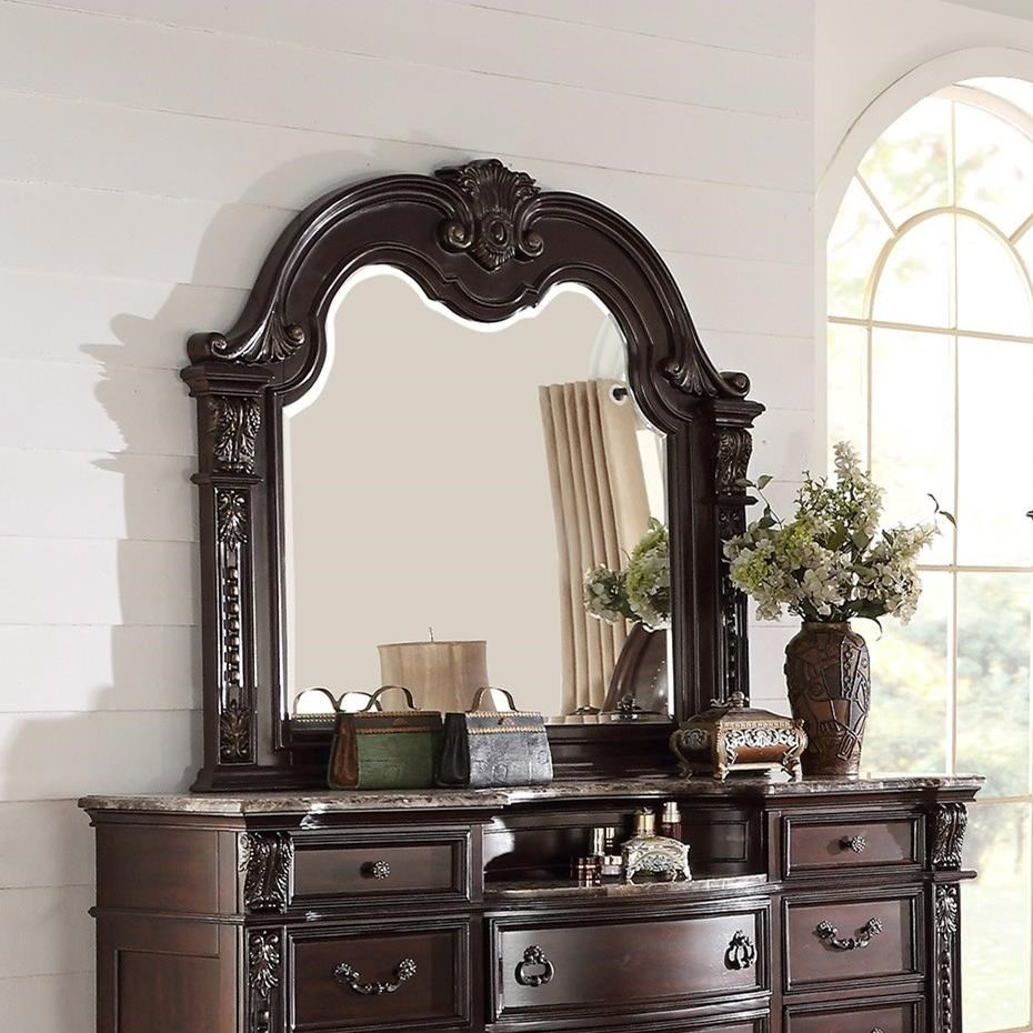 Stanley Bedroom Mirror by Crown Mark at Northeast Factory Direct