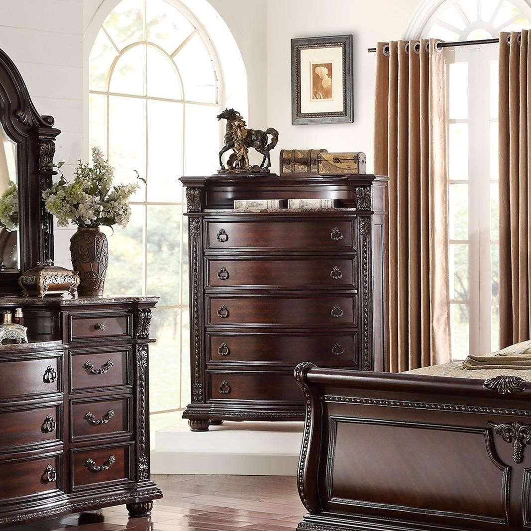 Stanley Bedroom Chest of Drawers by Crown Mark at Northeast Factory Direct