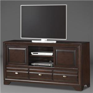 Entertainment Console with 3 Drawers and 2 Doors