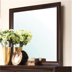 Rectangular Framed Dresser Mirror
