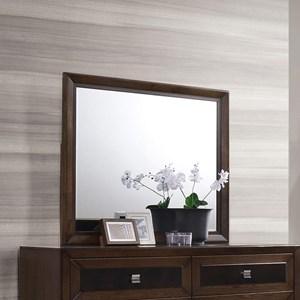 Windowpane Framed Mirror