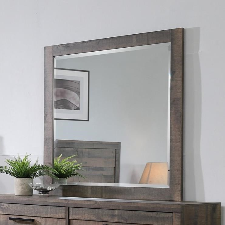 Tacoma Square Mirror by Crown Mark at Northeast Factory Direct