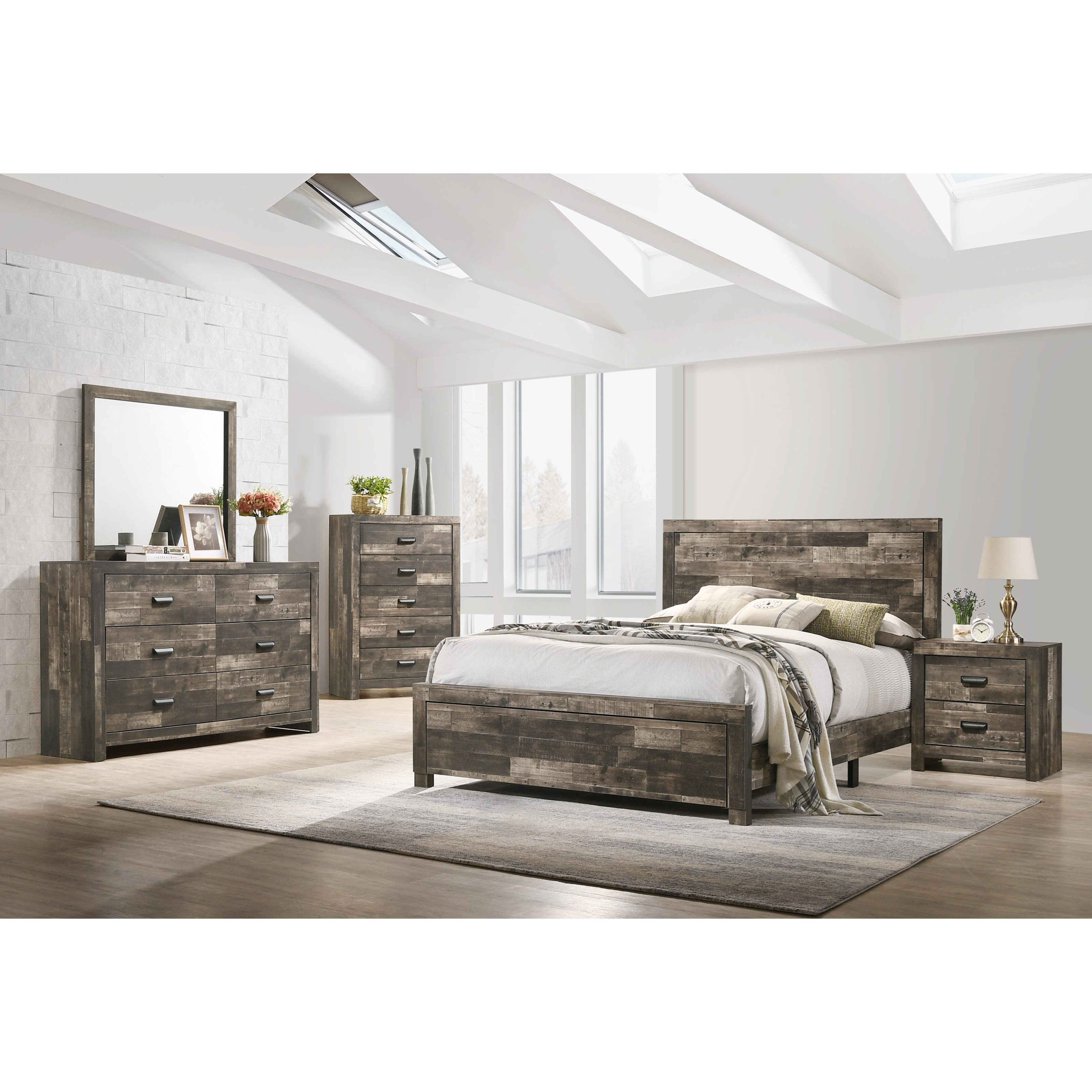 Tallulah King Bedroom Group by Crown Mark at Northeast Factory Direct